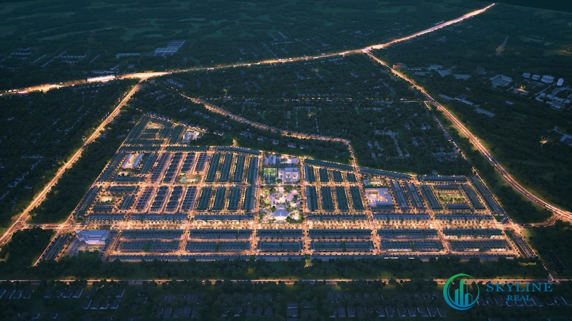 Phối cảnh dự án khu đô thị Gem Sky World