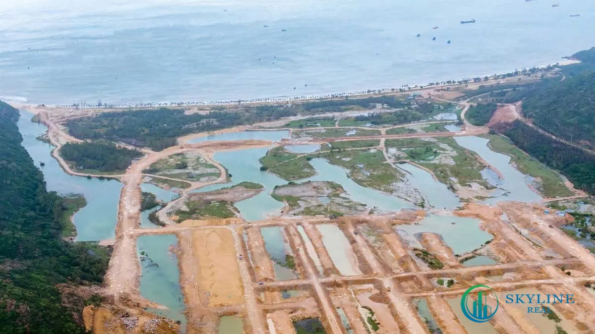 Hình ảnh thực tế dự án Hải Giang Mery Land Quy Nhơn Chủ đầu tư Hưng Thịnh