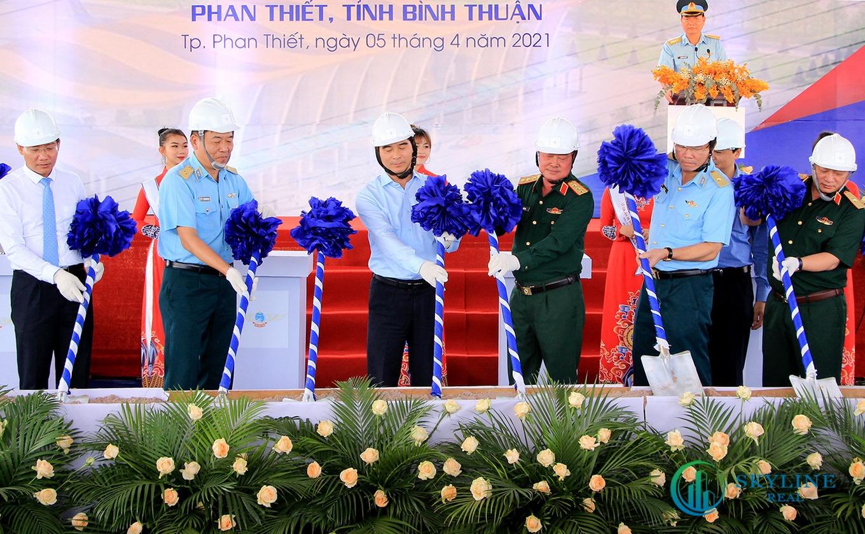 Triển khai dự án đầu tư xây dựng sân bay Phan Thiết đầu tháng 4/2021