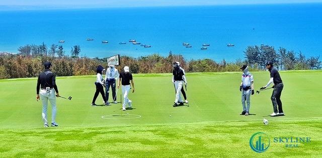 Sân golf PGA Ocean NovaWorld Phan Thiết được xây dựng trên mảnh đất 88,4 ha