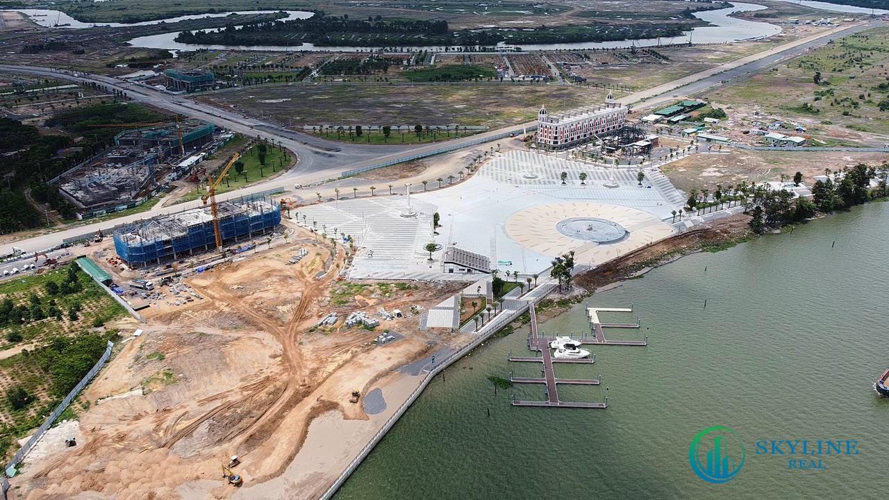 Tiến độ Aqua Marina tại Aqua City