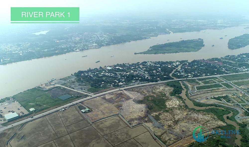 Tiến độ Aqua City tháng 4/2021 - Phân khu River Park 1