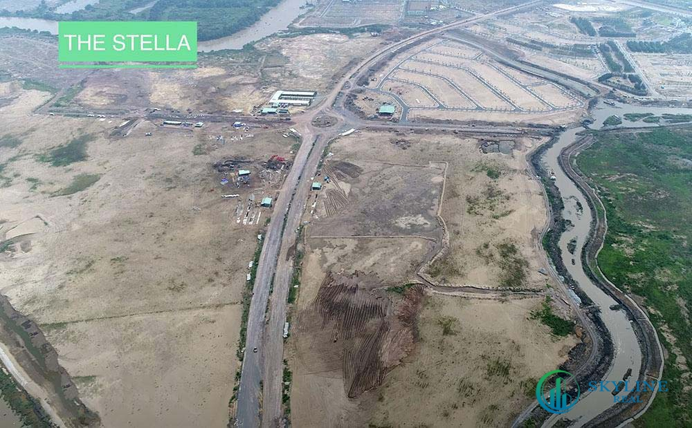 Tiến độ Aqua City tháng 4/2021 - Phân khu The Stella