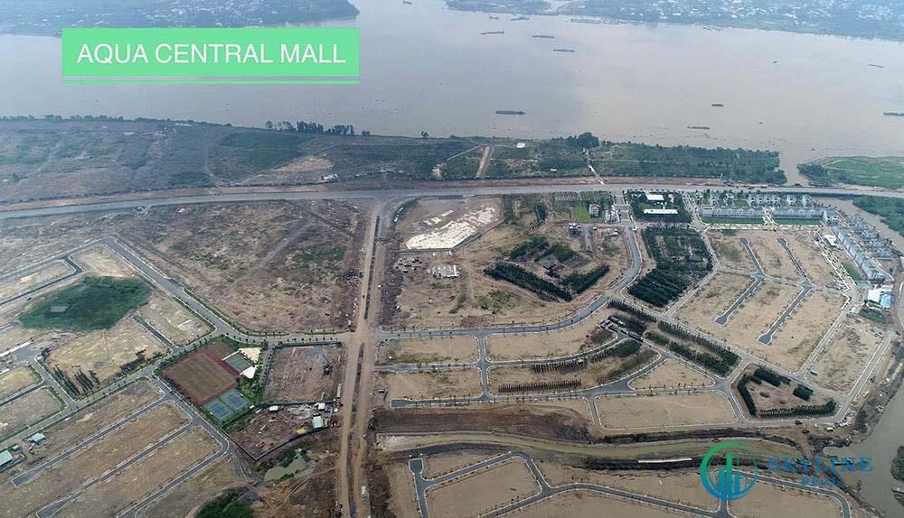 Tiến độ Aqua City tháng 4/2021 - Aqua Central Mall