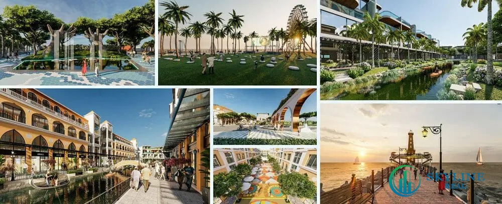 Tiện ích nổi bật dự án Venezia Beachchủ đầu tư Danh Việt