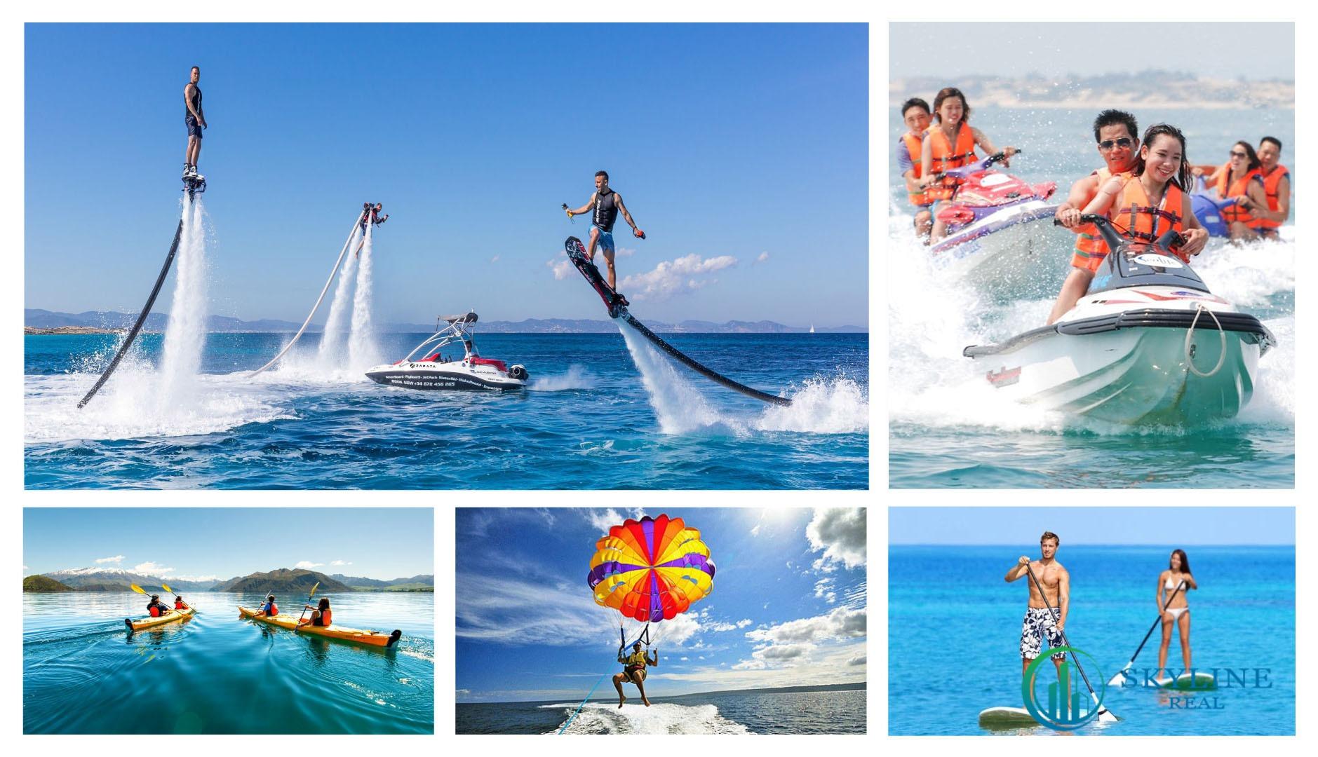 Tận hưởng tiện ích nội khu tuyệt vời tại Charm Long Hải Resort