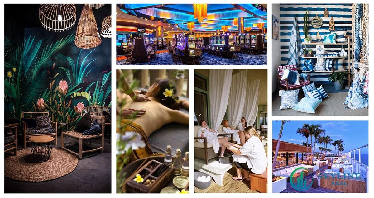 Tận hưởng tiện ích nội khu tuyệt vời tại Charm Hồ Tràm Resort