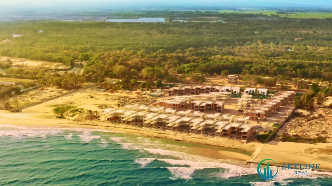Angsana Residences Hồ Tràm đã hoàn thiện phần thô của 52 căn biệt thự giới hạn vào tháng 4/2021