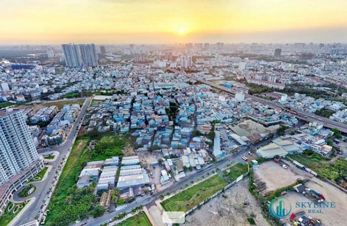 Vùng ven phía Nam trung tâm thành phố Hồ Chí Minh sôi động về thị trường bất động sản