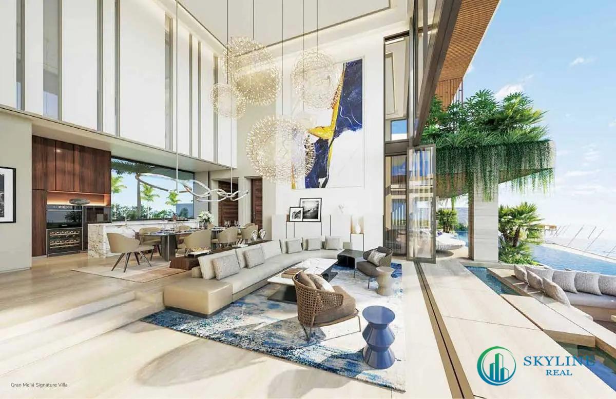 Không gian kiến trúc, nội thất sang trọng