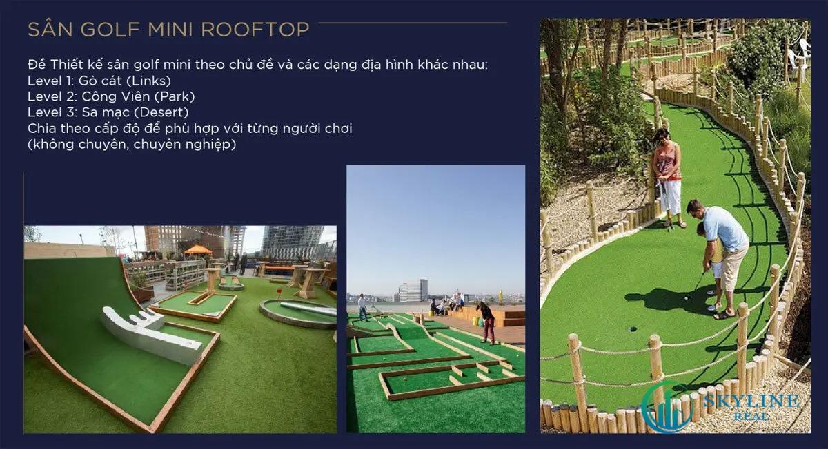 Sân Golf Mini Rooftop