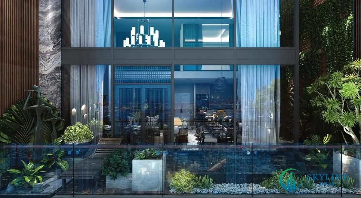 Balcony Căn hộ Sunshine Continenal Thành Thái Quận 10