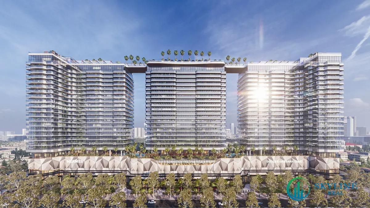Phối cảnh tổng thể dự án căn hộ Sunshine Continental