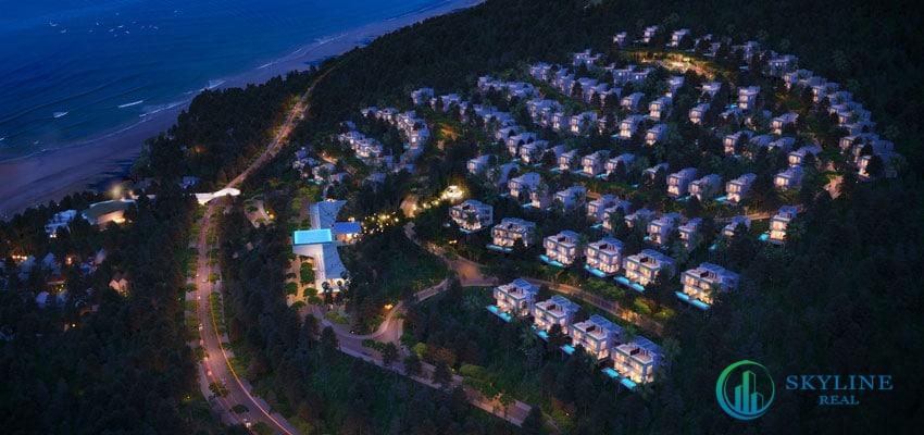 PhốiPhối cảnh tổng thể dự án biệt thự nghỉ dưỡng Casa Marina Premium