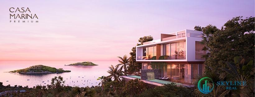 Nhà mẫu biệt thự Casa Marina Premium