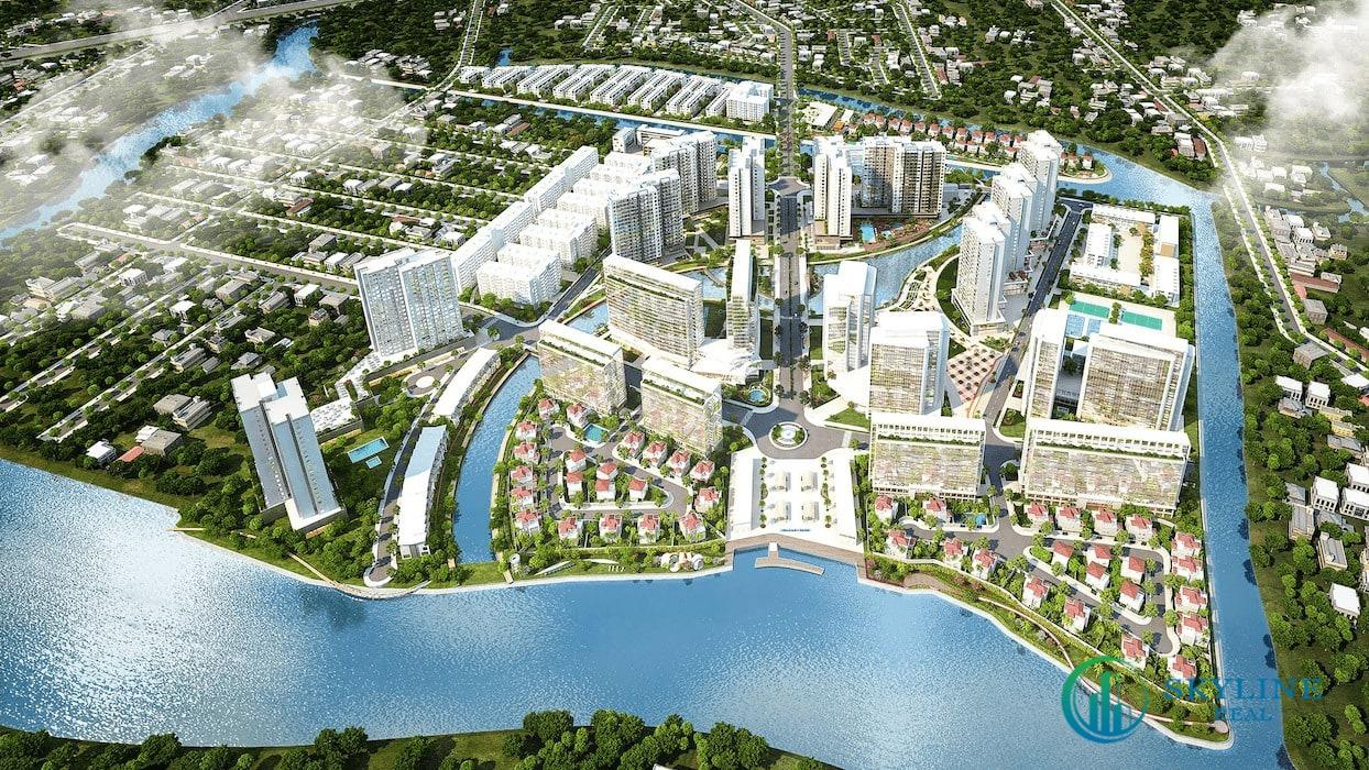 Phối cảnh tổng thể dự án căn hộ Mizuki Park