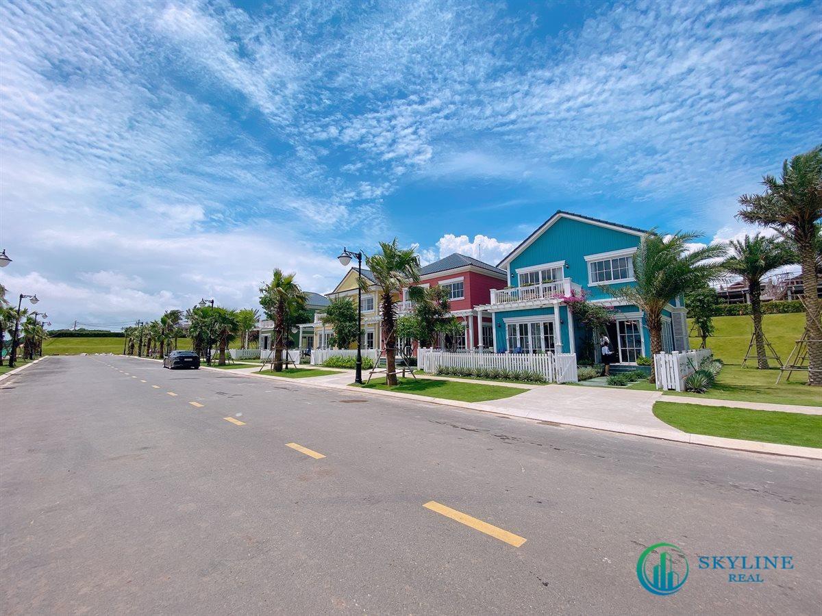 Dãy Nhà Phố Florida 10×20 dự án NovaWorld Phan Thiết Bình Thuận