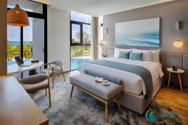 Các căn hộ được tối ưu hoá tầm nhìn ra biển tuyệt đẹp