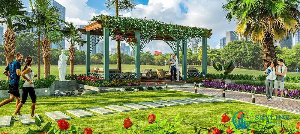 Công viên nội khu ngay dưới dự án