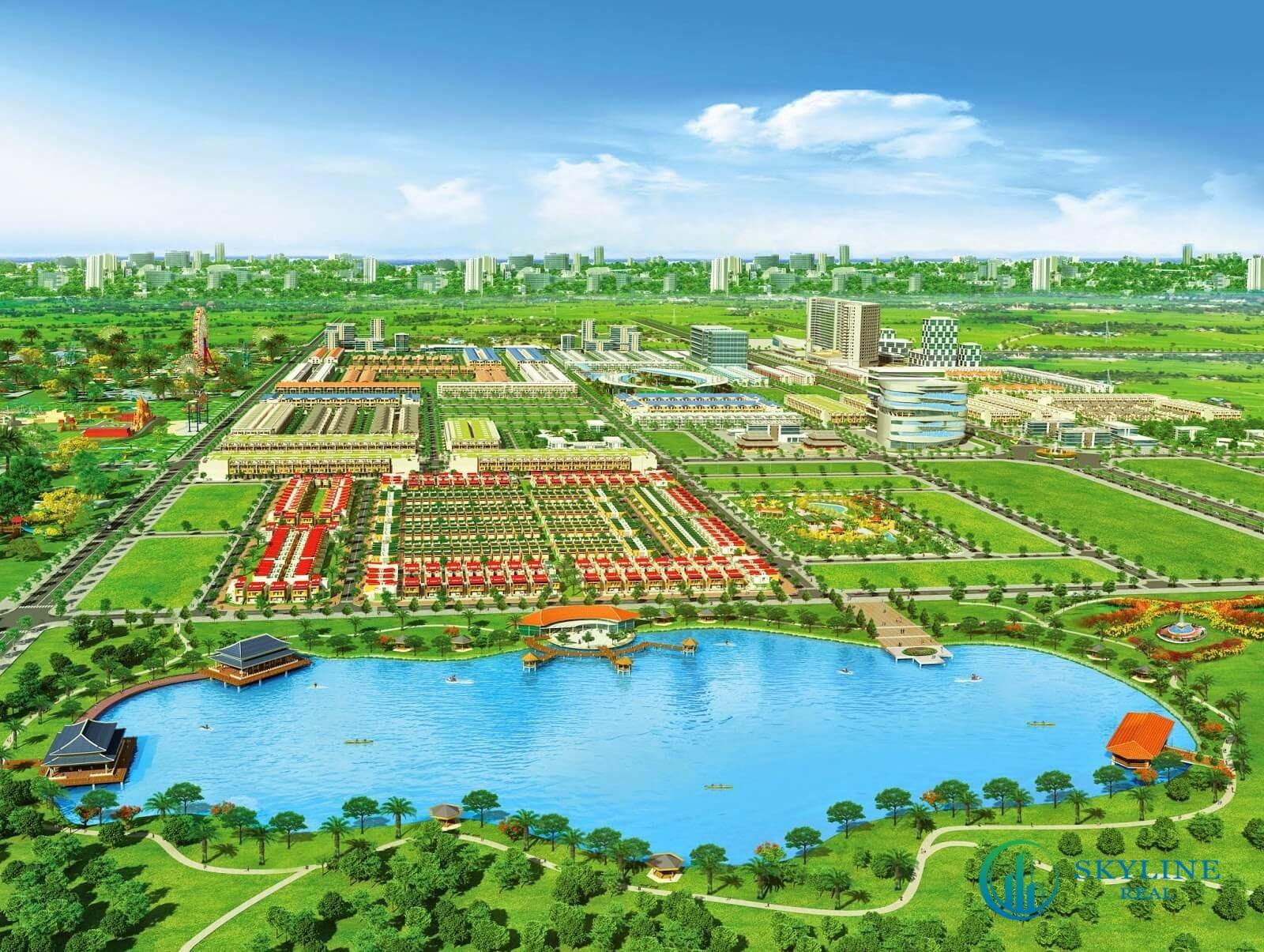 Phối cảnh dự án khu đô thị Eco Village