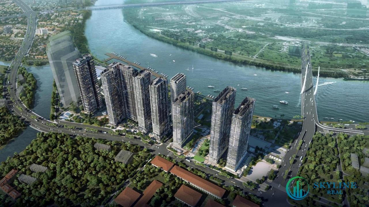 Phối cảnh dự án căn hộ chung cư Grand Marina SaiGon