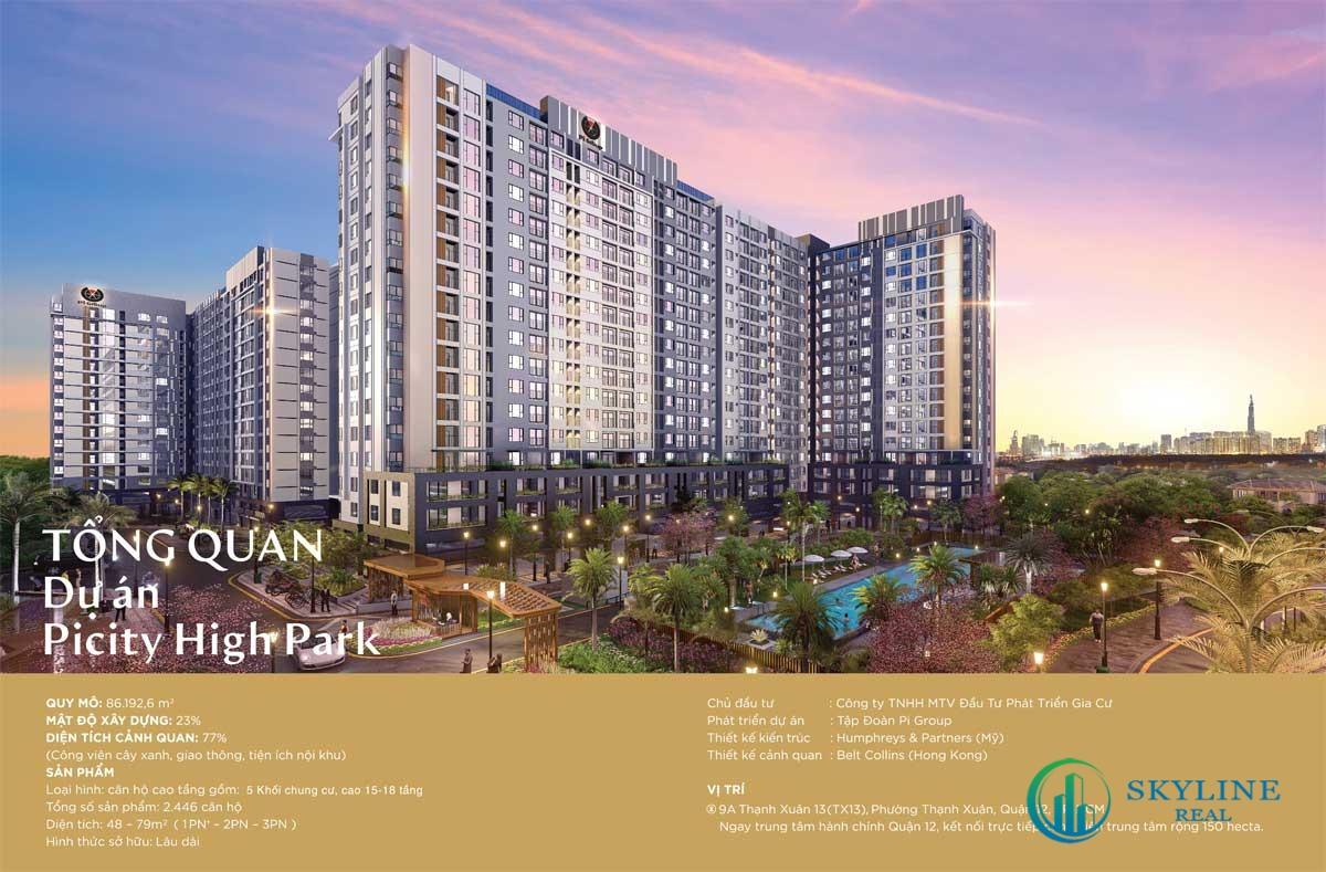 Giới thiệu tổng thể dự án căn hộ Picity High Park