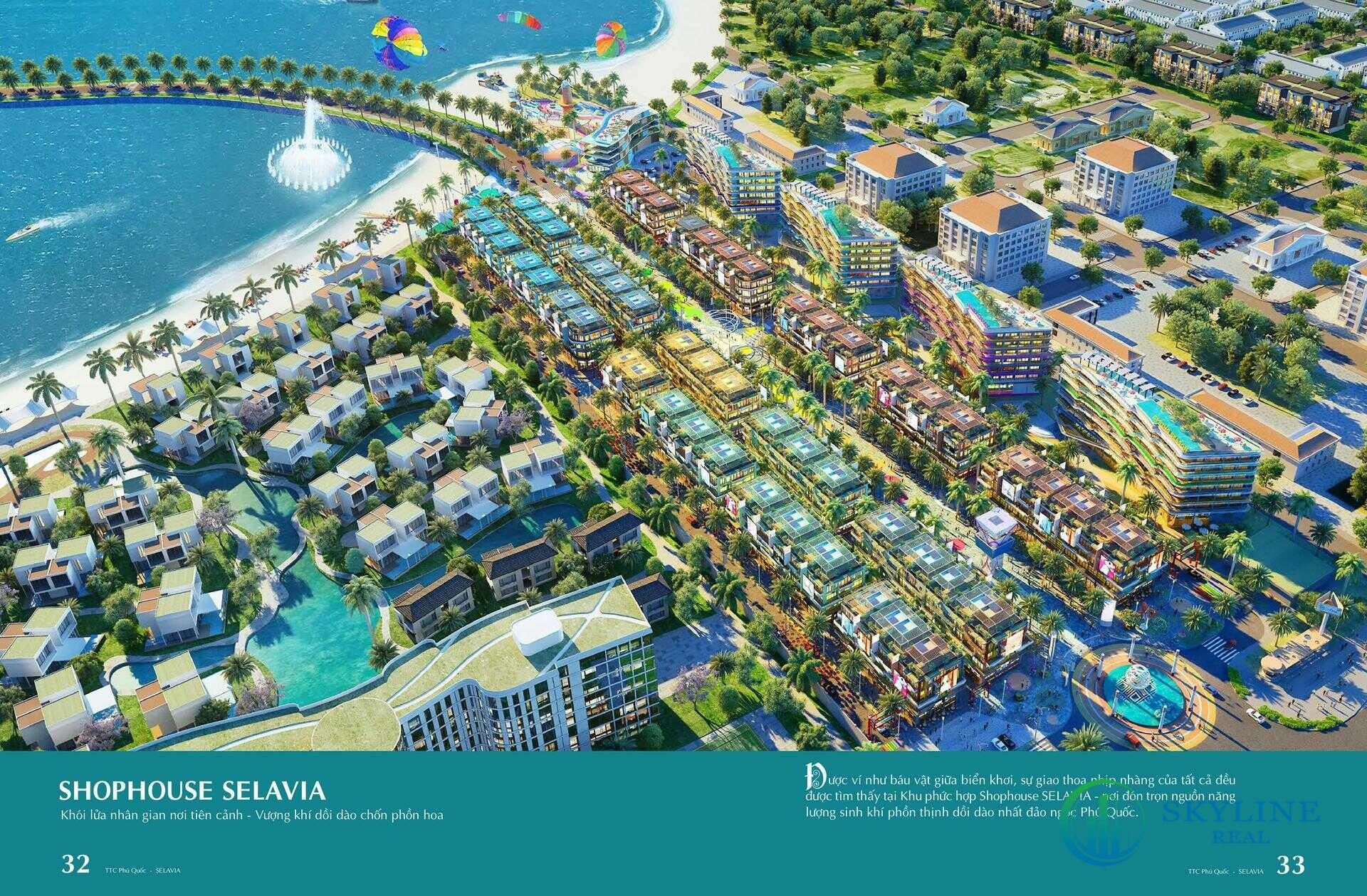 Phối cảnh tổng thể dự ánSelavia Phú Quốc