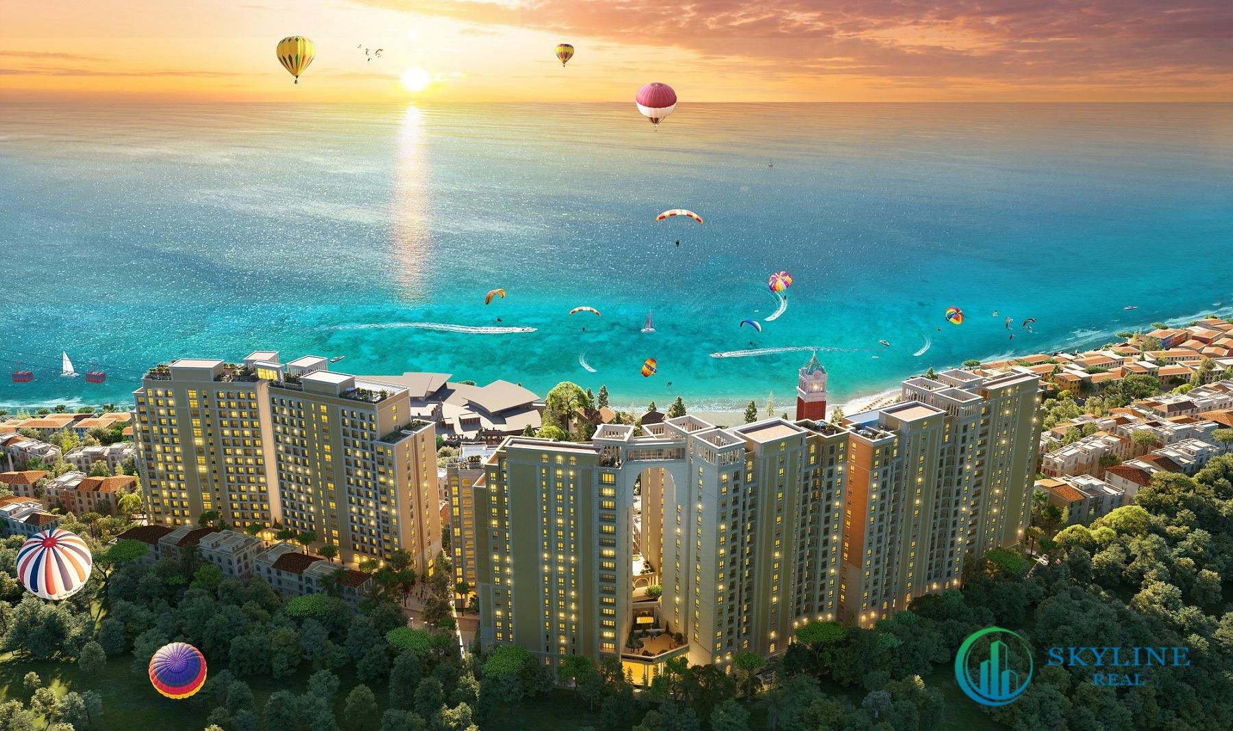 Phối cảnh tổng thể dự án căn hộ Sun Grand City Hillside Residence