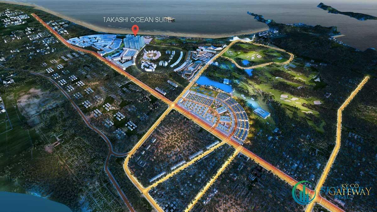 Khu đô thị biển Takashi Ocean Suite Kỳ Co là một trong những dự án hội tụ đầy đủ các tiêu chí của một BĐS tiềm năng