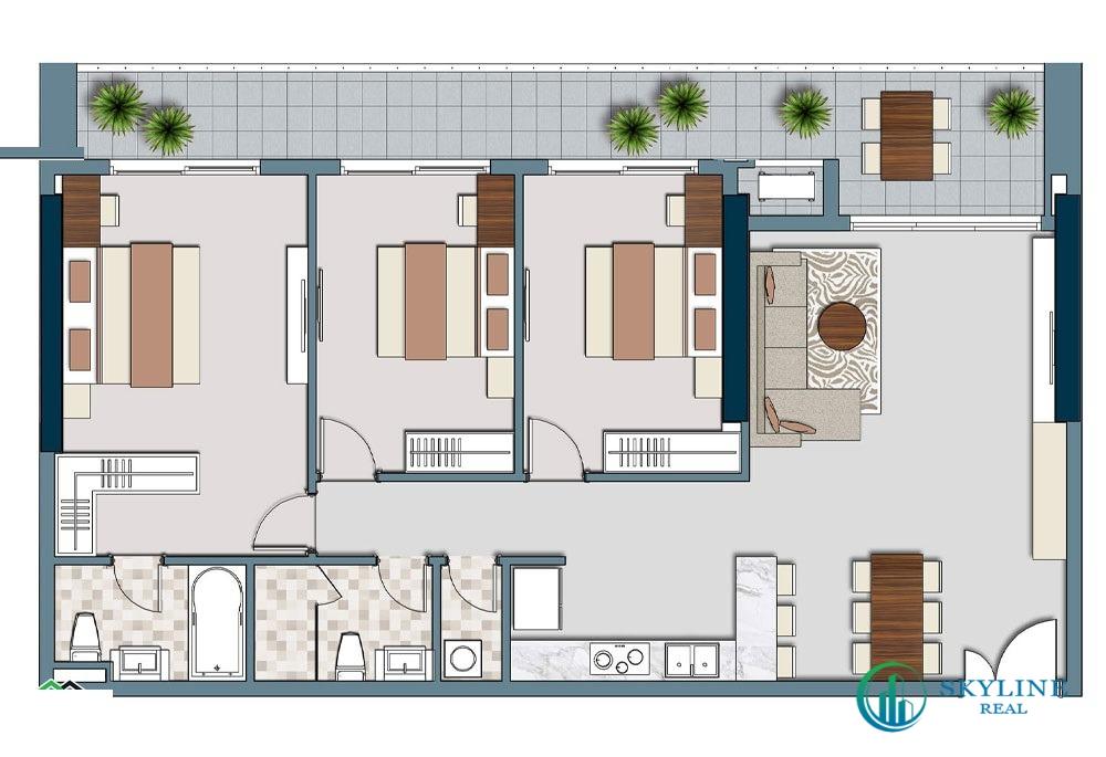 Thiết kế dự án căn hộ Lancaster Legacy Sài Gòn
