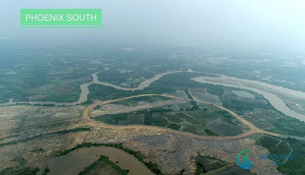 Tiến độ Aqua City tháng 5/2021 - Phân khu Đảo Phượng Hoàng