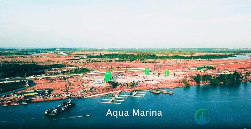 Bến du thuyền Aqua marina bước đầu hình thành diện mạo mới