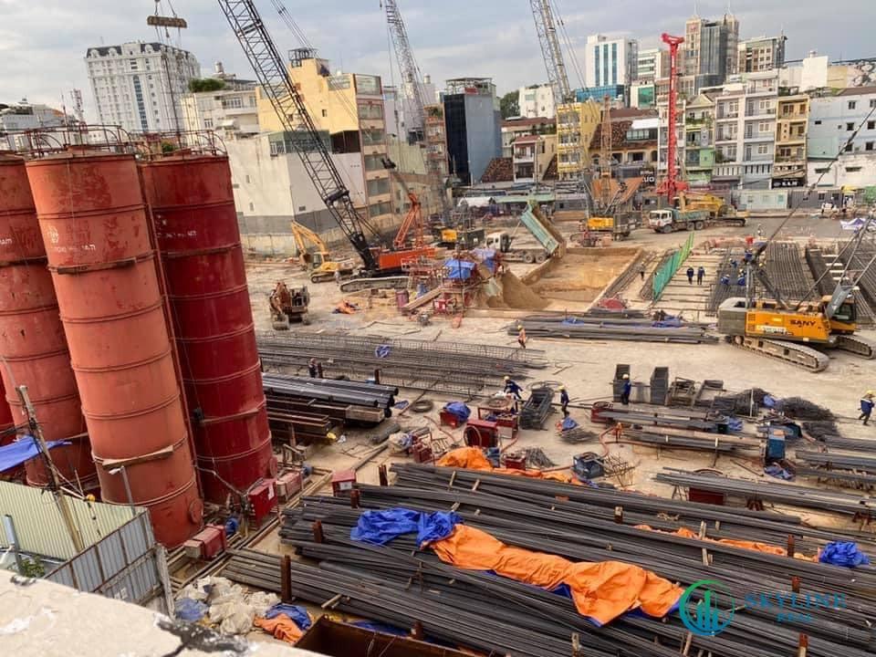 Tiến độ thực tế dự án căn hộ Lancaster Legacy Sài Gòn tháng 5/2021:
