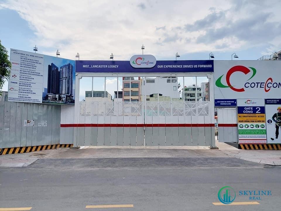 Tiến độ thực tế dự án căn hộ Lancaster Legacy Sài Gòn tháng 5/2021