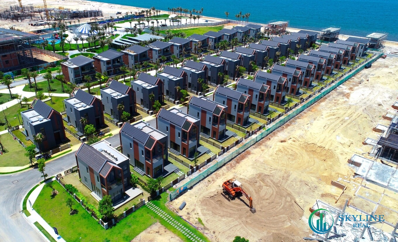 101 căn biệt thự khu biển - phân kỳ The Tropicana sẽ bàn giao vào cuối năm nay - Ảnh tiến độ thực tế tại công trình NovaWorld Hồ Tràm