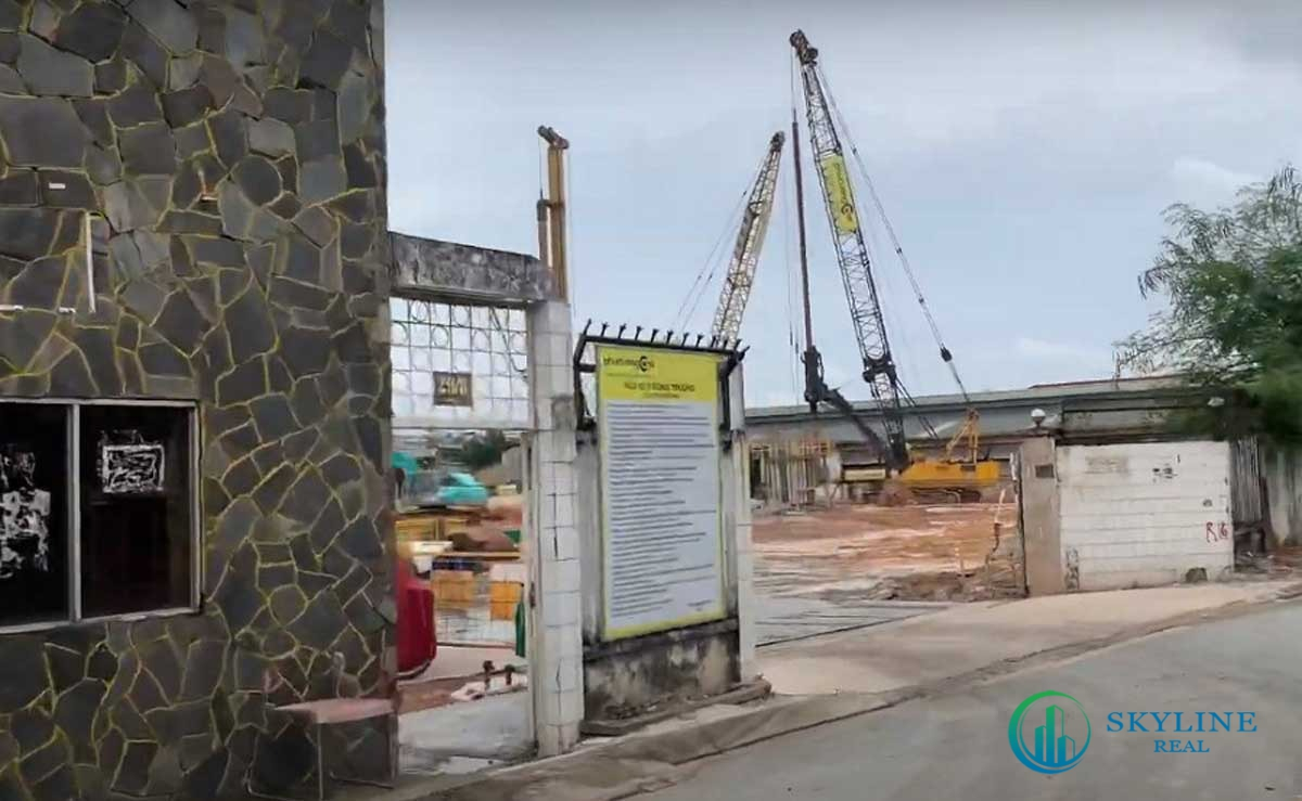 Tiến độ thực tế dự án căn hộ HT Pearltháng 5/2021