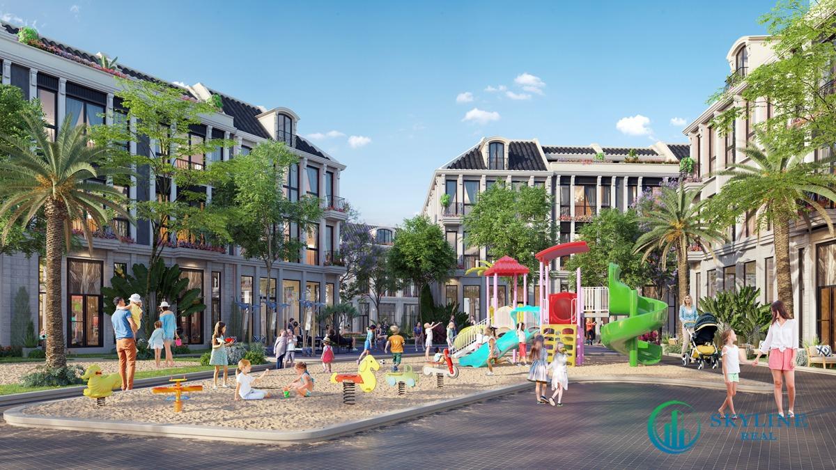 Tiện ích nội khu dự án khu đô thị La Queenara