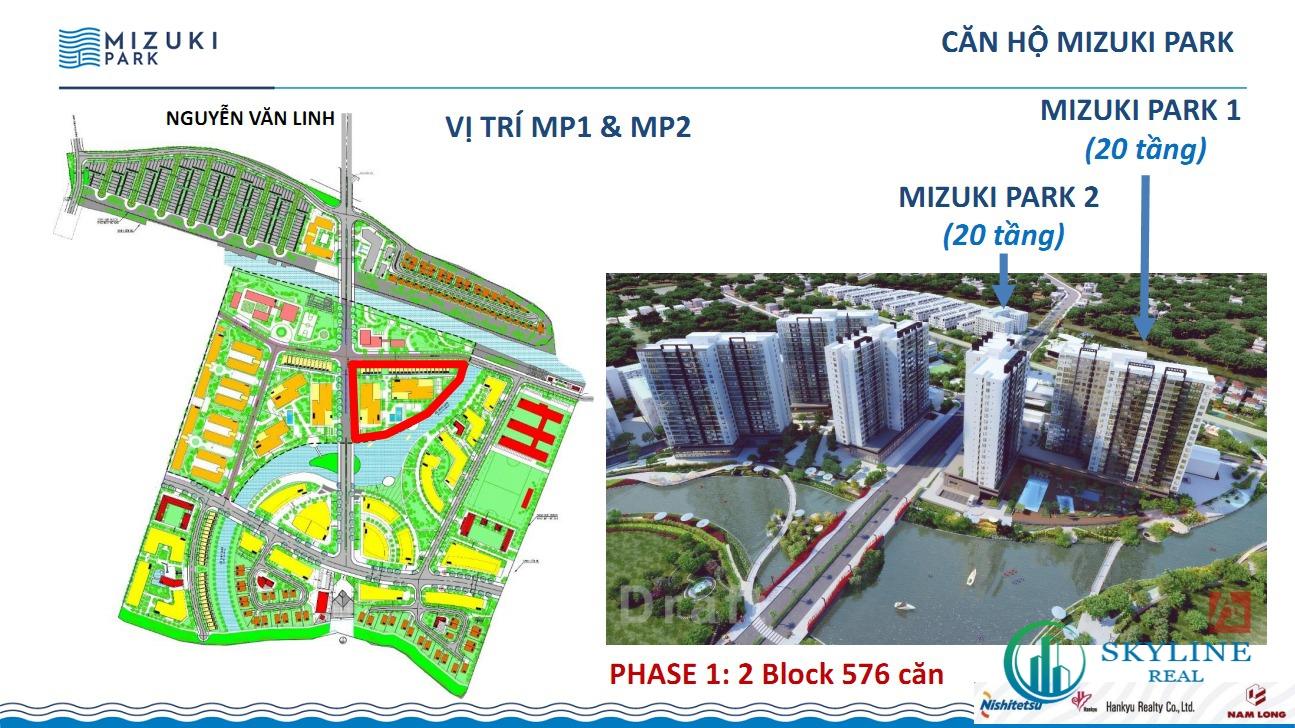 Mặt bằng dự án căn hộ Mizuki Park Bình Chánh