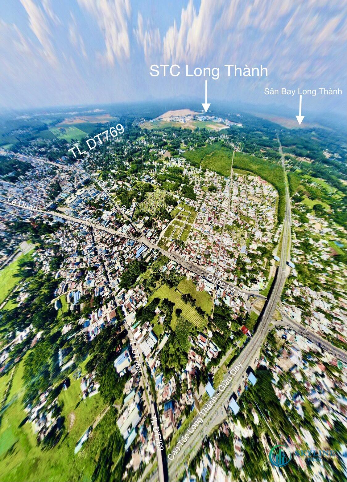 Sân bya Long Thành là tiềm năng đối với dự án KĐT STC Long Thành