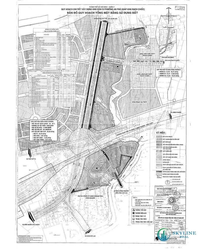 Bản đồ quy hoạch phường An Phú