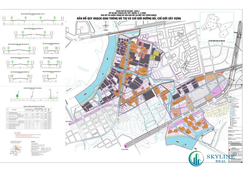 Bản đồ quy hoạch phường Bình Khánh