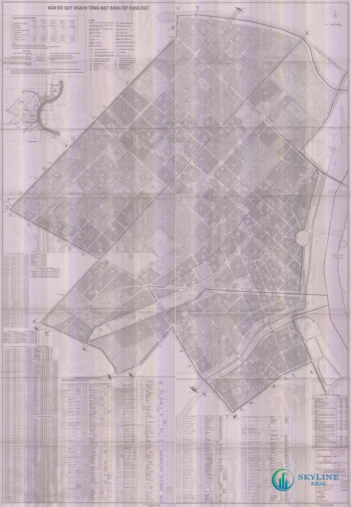 Bản đồ quy hoạch sử dụng đất Quận 1 – Tỉ lệ 1:2000