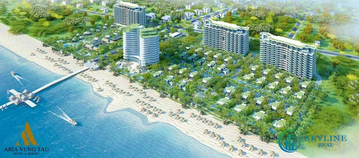 Phối cảnh dự án Resort Aria Vũng Tàu