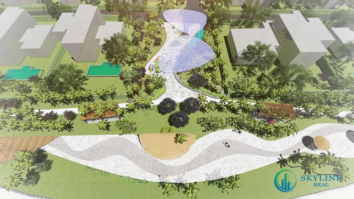 Công viên 4 mùa Dự án Aria Vũng Tàu