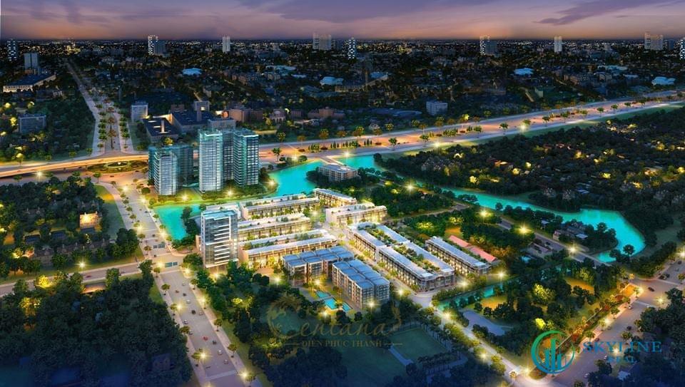 Phối cảnh tổng thể dự án căn hộ EstMark City Rio Land