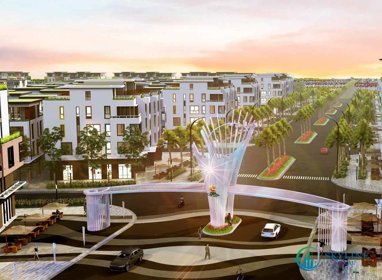 Tọa lạc ở khu vực cổng chính dẫn vào dự án, các shophouse Diamond tại phân khu Rosada sở hữu lợi thế kinh doanh vượt trội