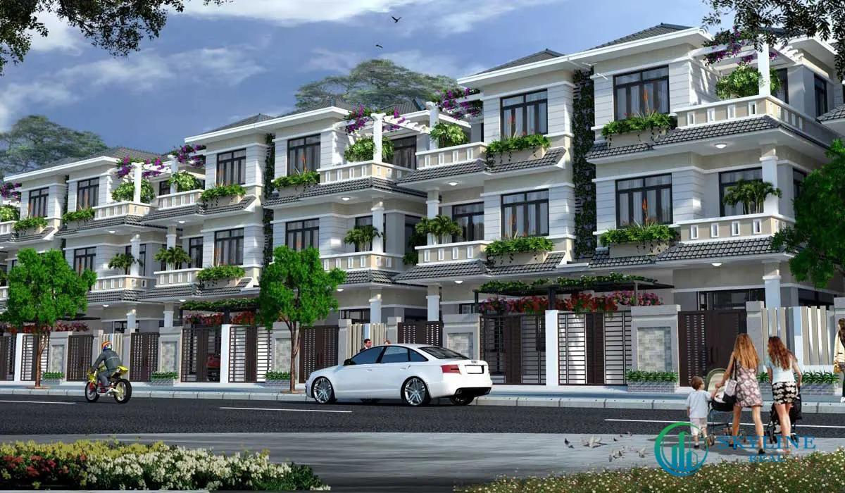 Nhà phố liên kế tại STC Long Thành