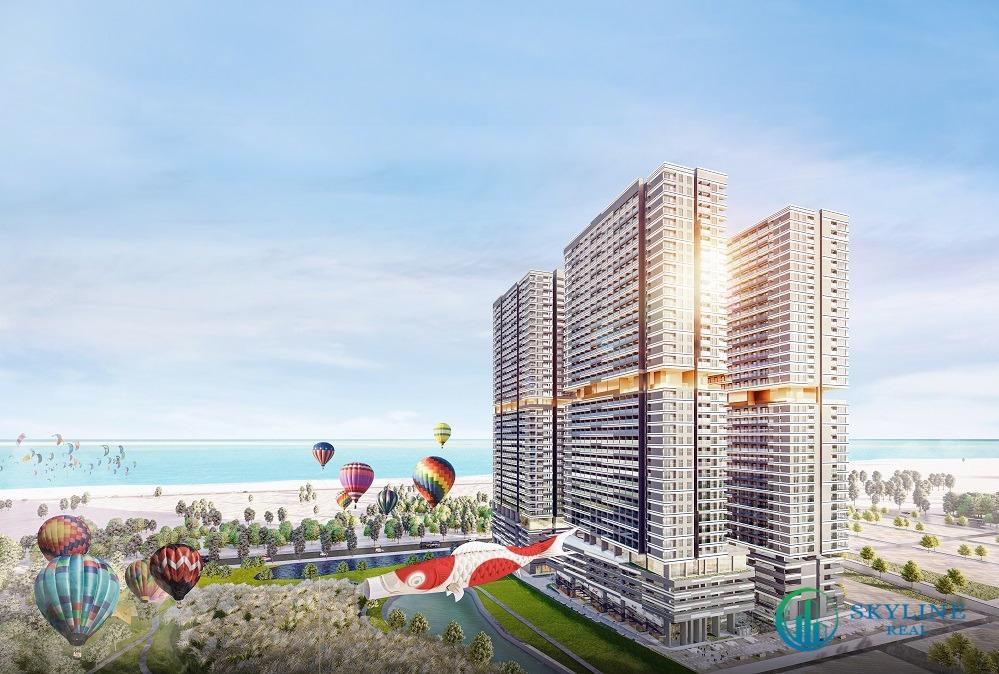 Phối cảnh tổng thể khu đô thị Takashi Ocean Suite Kỳ Co