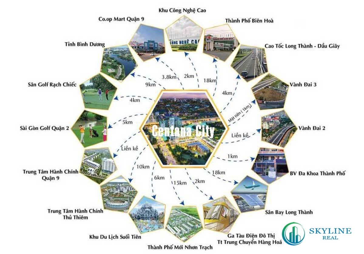 Kết nối liên vùng từ dự án EstMark City Quận 9