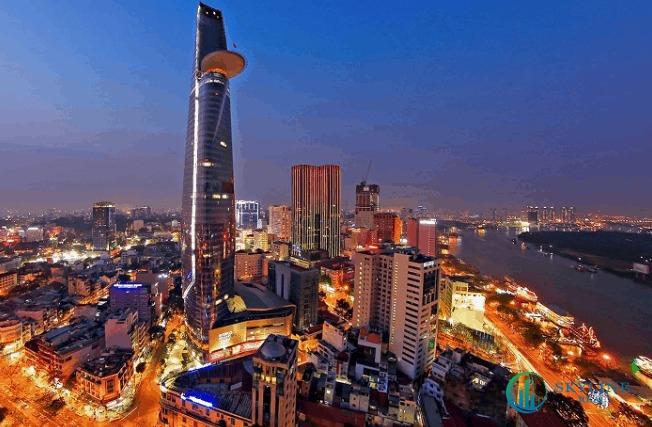 Toà nhà Bitexco được xem là biểu tượng của Sài Gòn